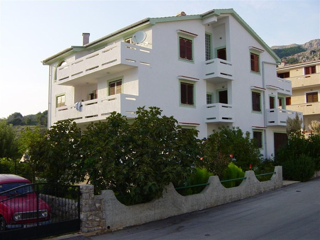Baška - Apartmánový dům Mohar