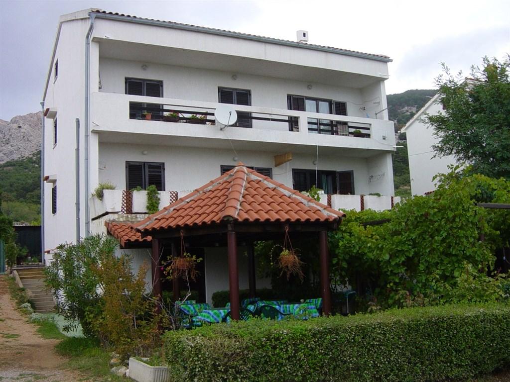 Baška - Apartmánový dům Velnić