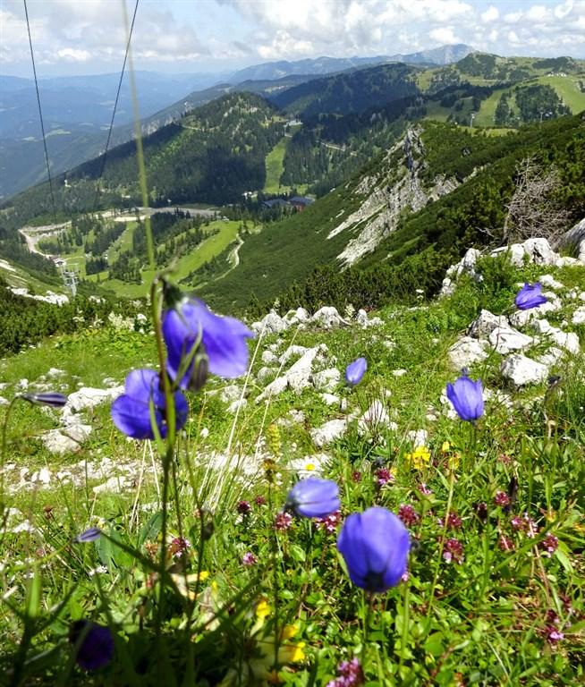 Soutěska Wasserlochklamm a dech beroucí Hochkar - Rakousko