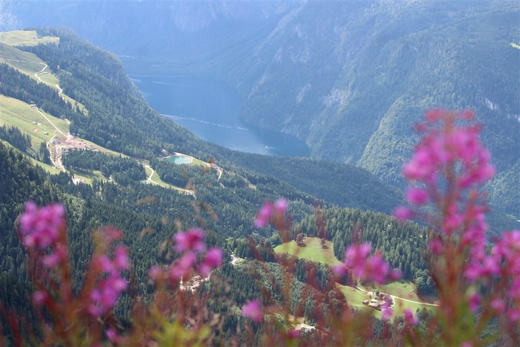 Hitlerovo Orlí hnízdo a impozantní Grossglockner - Rakousko