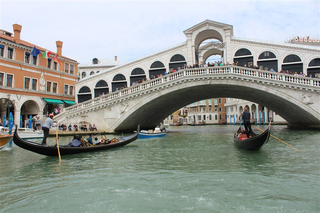 Romantické Benátky a zámek Miramare - Itálie