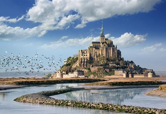 Tajuplná Bretaň a drsná krása Normandie - Francie