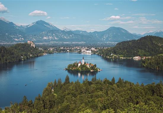 Slovinsko - krajem ledovcových jezer až k rozpálenému Jadranu - Slovinsko