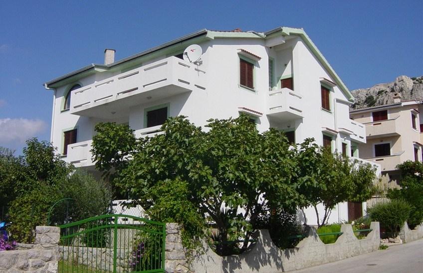 Baška - Apartmánový dům Mohar - Baška