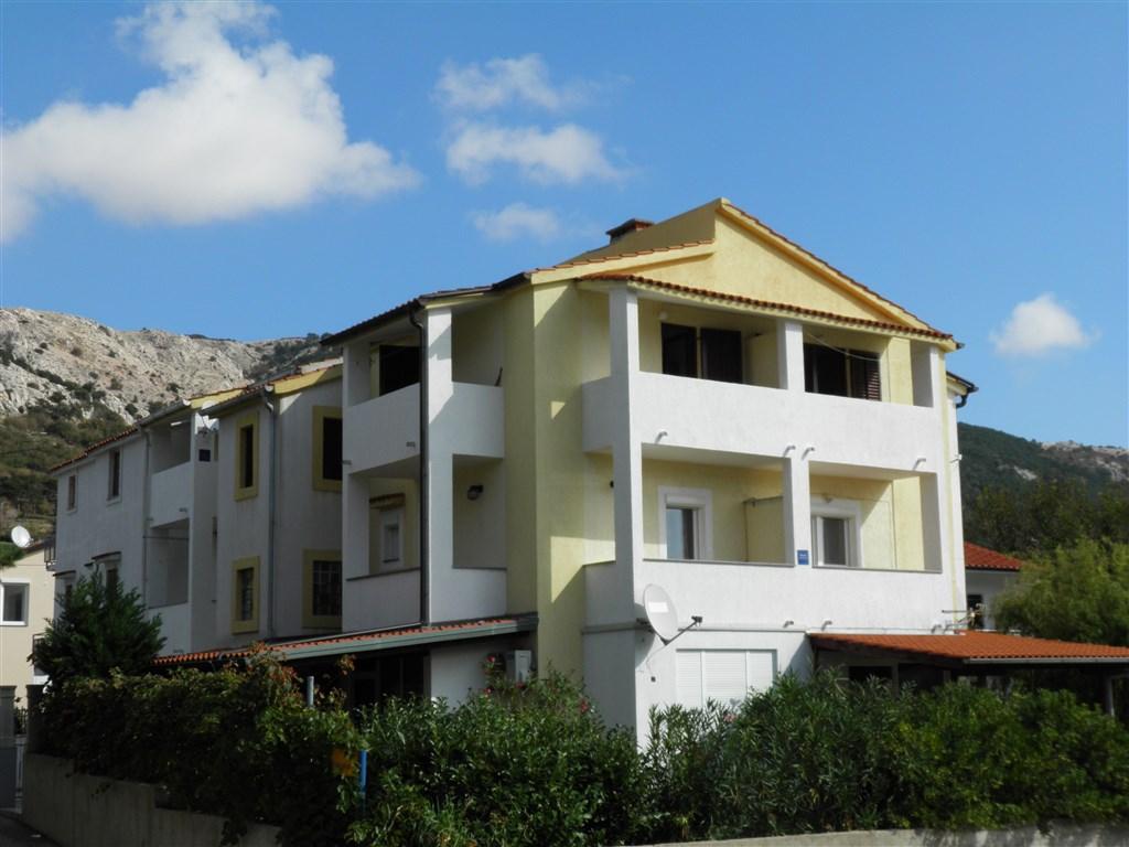 Baška / Apartmánový dům Bonefačić - Baška