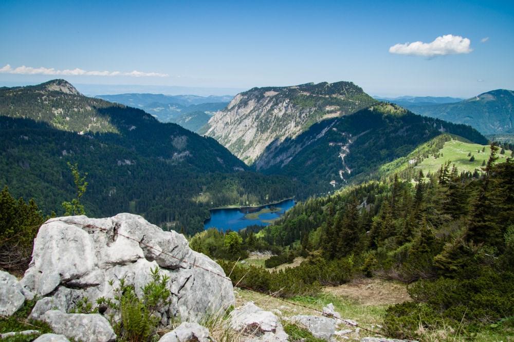 Ötcher - král Dolnorakouských Alp - Rakousko