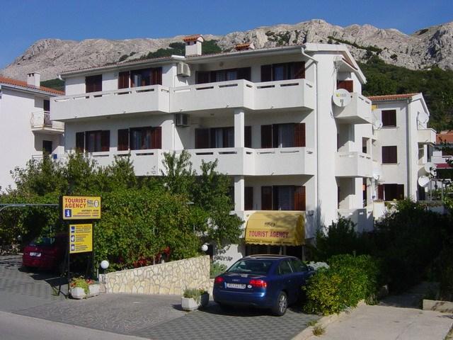 Baška / Apartmánový dům Brnić - Baška