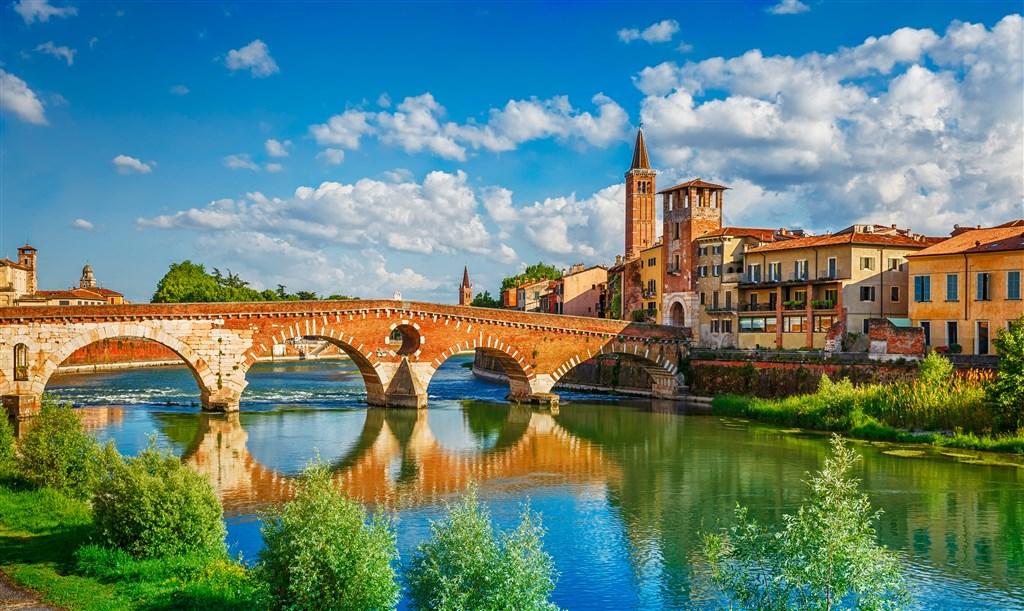 Benátky, Vicenza, Verona, Padova – památky Unesco - Itálie