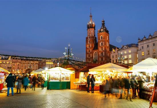 Advent v Krakově - městě králů a umění - Polsko