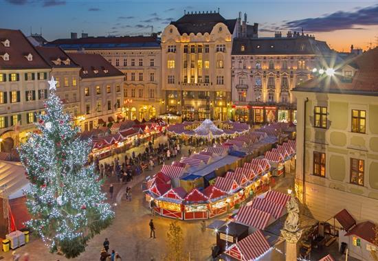 Předvánoční Bratislava - Slovensko