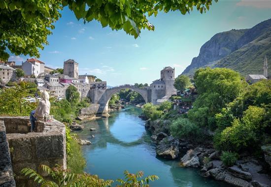 Bosna a Hercegovina s koupáním u moře i vodopádů - Bosna a Hercegovina