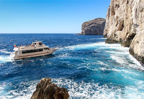 Oslnivá Sardínie - Karibik Středomoří - Itálie