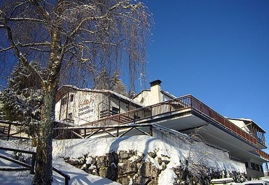Vaneze/ Hotel Monte Bondone - Itálie zima