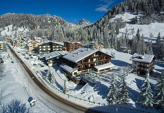 Zoldo Alto/ Hotel Sporting - Itálie zima