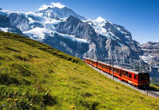 Putování Švýcarskem až pod Mont Blanc - Švýcarsko