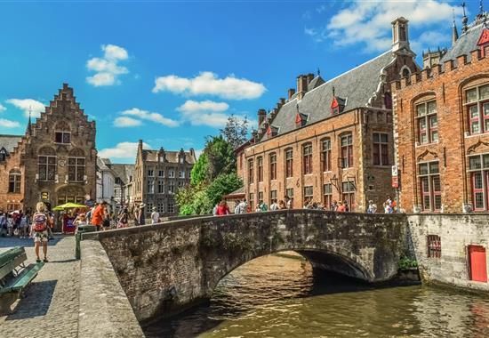 Bruggy, Gent a Brusel - skvosty Belgie - Belgie