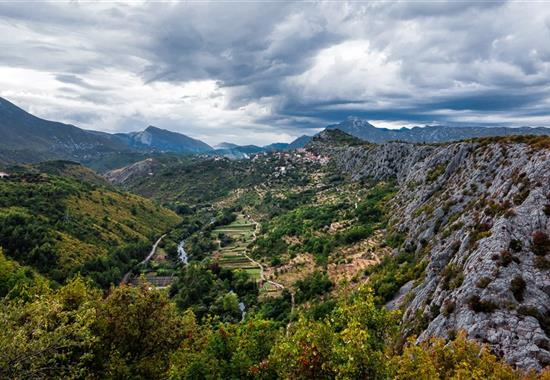 Proslulá i méně známá zákoutí Dalmácie - Chorvatsko