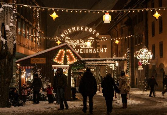Pohlednice z adventního Norimberku a Řezna - Německo