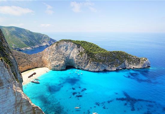 Zakynthos a Kefalonie - Řecko