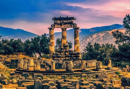 Velký okruh Řeckem - Řecko