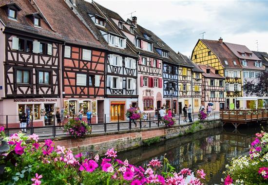 Alsasko, Švýcarsko a Černý les - Francie