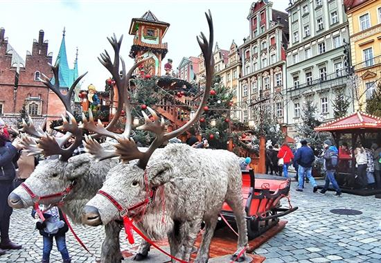 Podmanivá vánoční Vratislav - Polsko