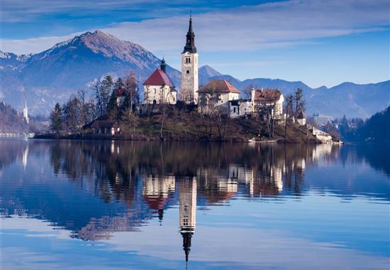 Sváteční Slovinsko a zářivý Graz - Rakousko