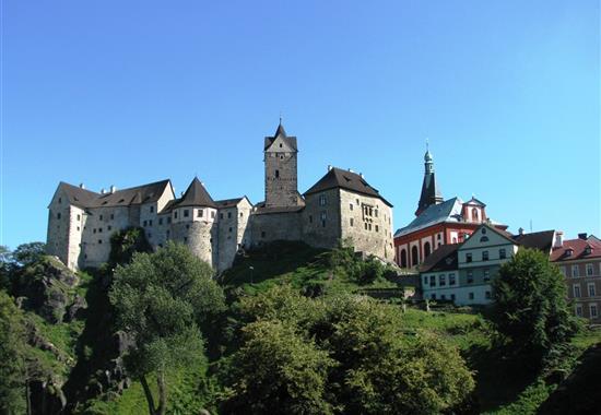 Západní Čechy - lázeňský trojúhelník - Česká republika