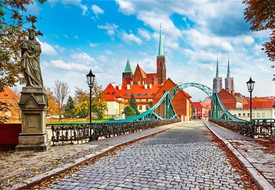 Vratislav a Krakov - Památky UNESCO - Polsko