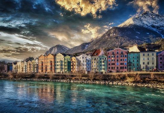 Stubaiské Alpy - svět ledovců a vodopádů - Rakousko