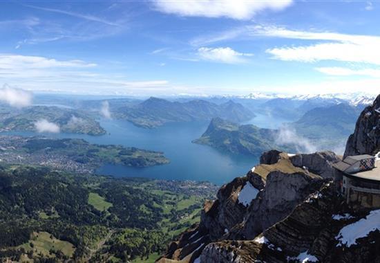 Na skok za švýcarskými nej - Luzern, Pilatus a Matterhorn - Švýcarsko