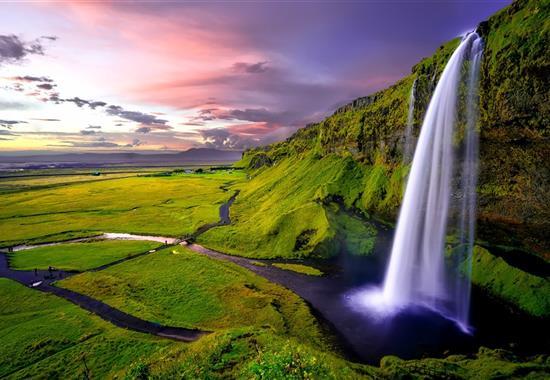 Island - mezi ledovci, sopkami a horkými prameny - Island