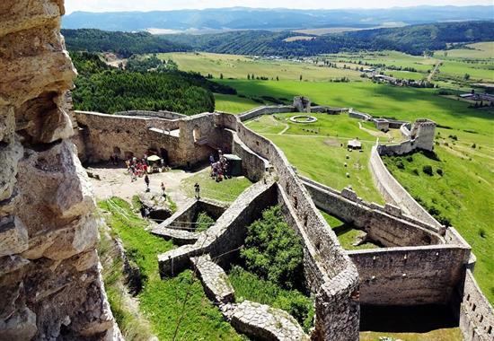 Historické a přírodní krásy východního Slovenska - Slovensko