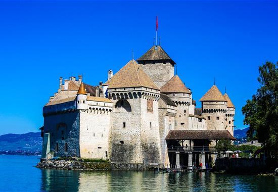 Okolo Ženevského jezera - Švýcarsko