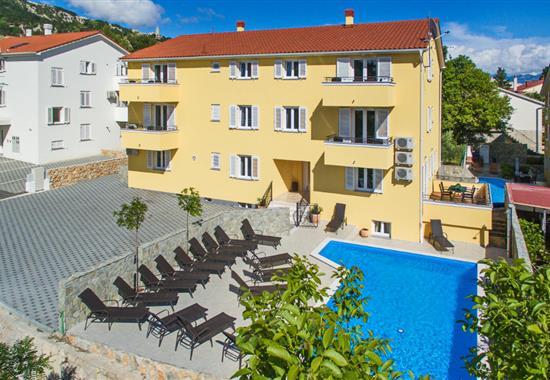 Baška / Apartmánový dům Gorica 2 - Ostrov Krk