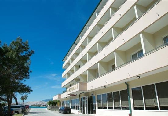 Pag - Hotel Meridijan - město Pag