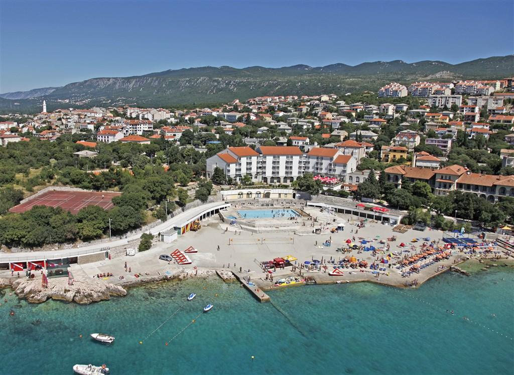 Novi Vinodolski - Hotel a depandance Lišanj - Kvarner