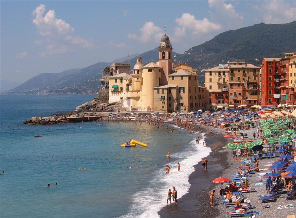 Ligurská riviéra - Itálie