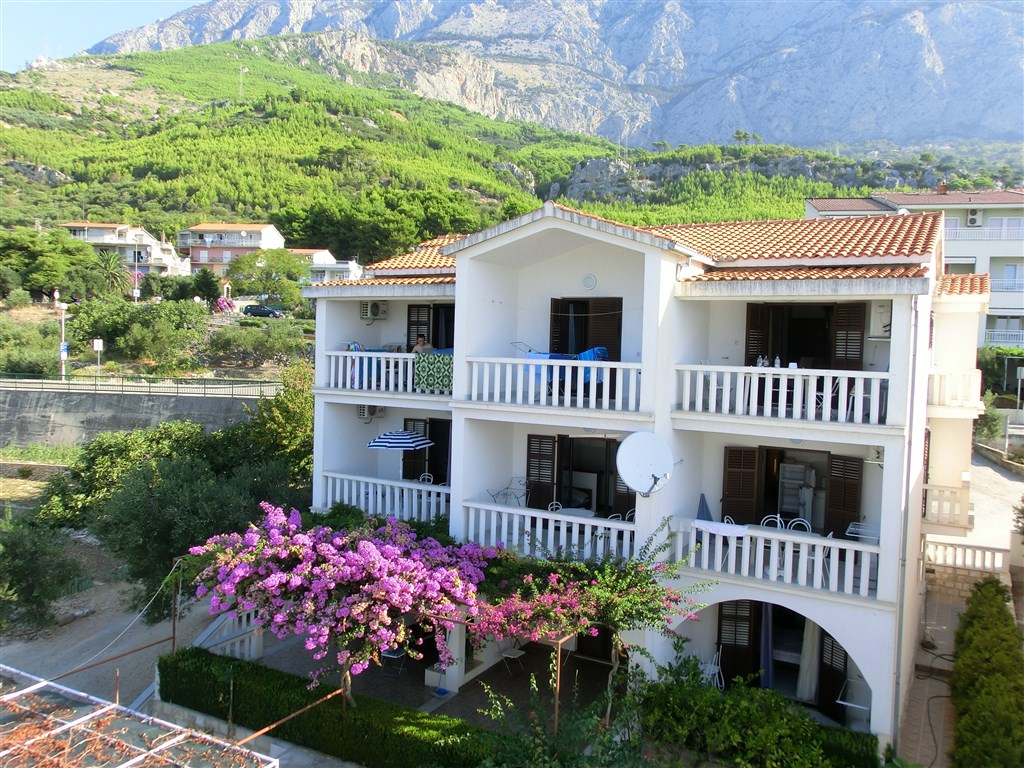 Apartmánový dům Dalmatina - Makarská riviéra