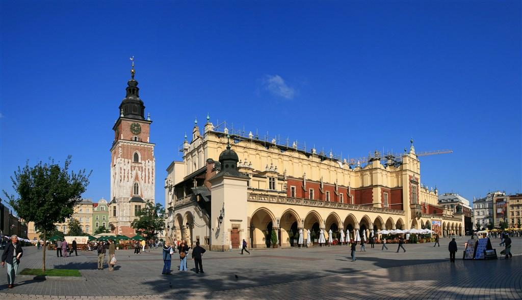Osvětim, Wieliczka, Krakov - památky UNESCO - Polsko