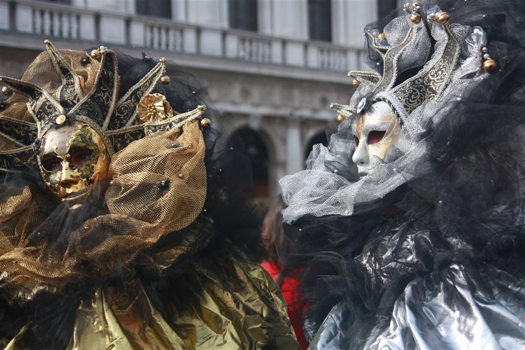 Legendární karneval v Benátkách - Itálie