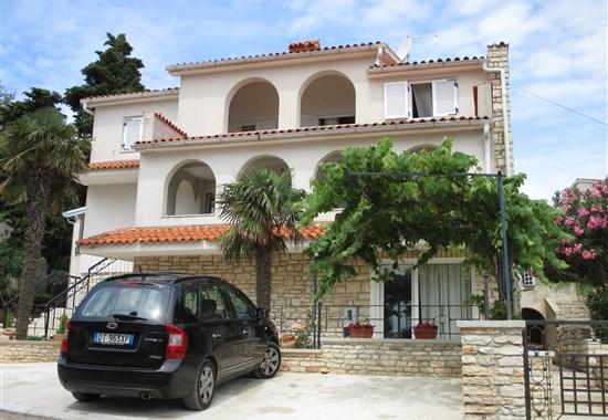 Premantura - Apartmánový dům Milanović - Istrie