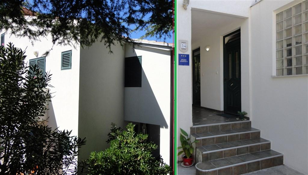 Baška Voda - Apartmánový dům Emilija - Makarská riviéra